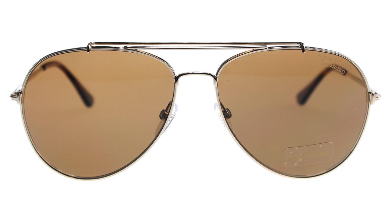 f87138585e Lyst - Tom Ford Sunglasses Indiana Tf 497 Ft 28h Shiny Rose Gold ...
