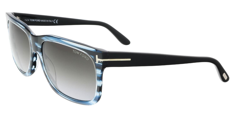 c683b18da77 Lyst - Tom Ford Sunglasses Barbara Tf 376 Ft 90b Shiny Blue ...