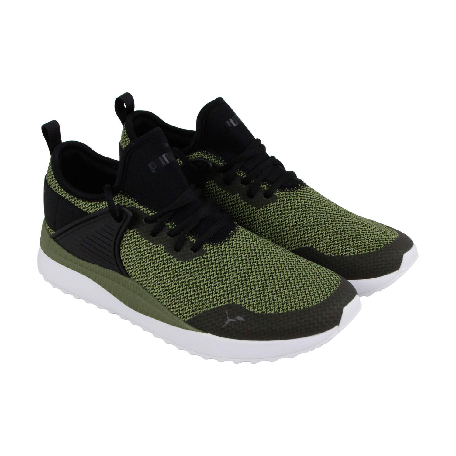 6257eb38f0 Lyst - PUMA Pacer Next Cage Gk Black Capulet Olive Lace Up Sneakers ...