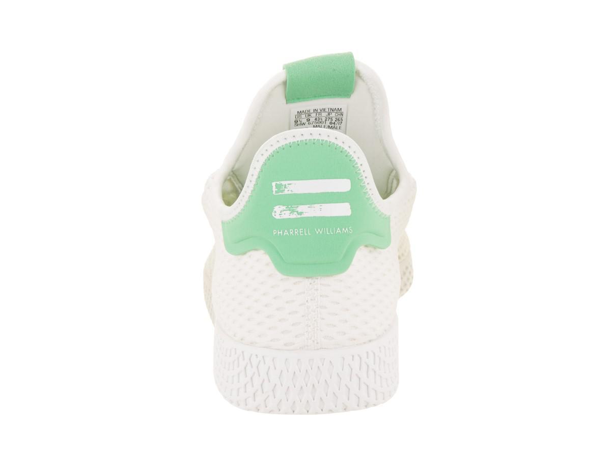 17fde411b7f97 ... italy lyst adidas pharrell williams tennis hu originals white white  d08af 74fb5