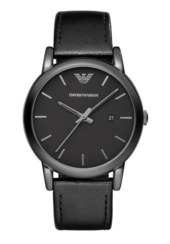 69a3da328 Emporio Armani - Black Ar1732 Classic Leather Watch, 41mm for Men - Lyst.  View fullscreen