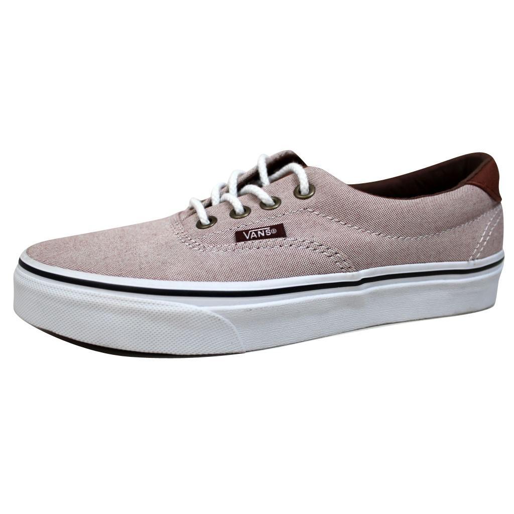 3246ca23dd Lyst - Vans Era 59 Ox Blood Red true White Oxford And Leather ...