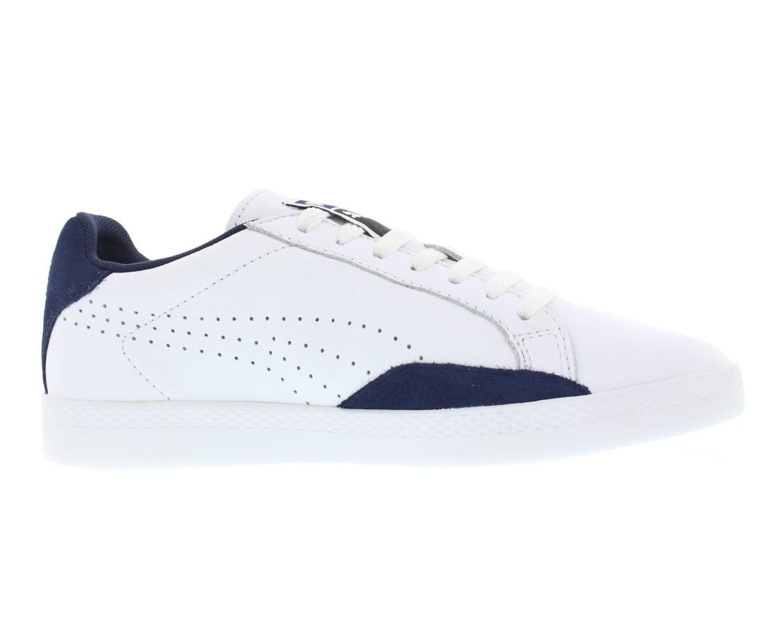 9831a0c1dde Lyst - Puma Match Lo Basic Sports Shoes Size 6 in White