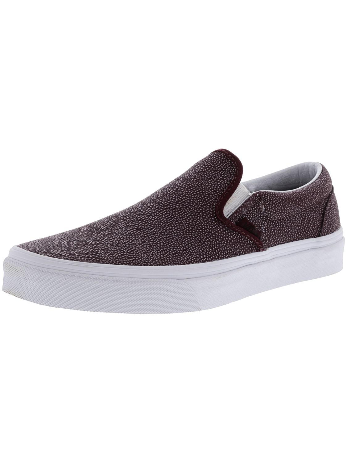 4cf0c7c806 Lyst - Vans Classic Slip-on Embossed Stingray Ankle-high Leather ...