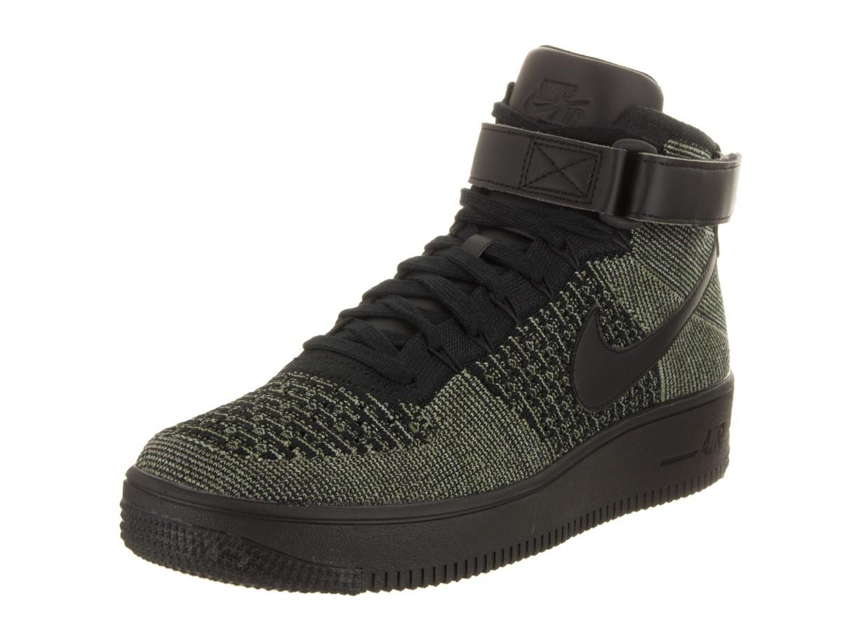 premium selection 81745 1c991 Lyst - Nike Af1 Ultra Flyknit Mid Basketball Shoe 11.5 Us in Black ...