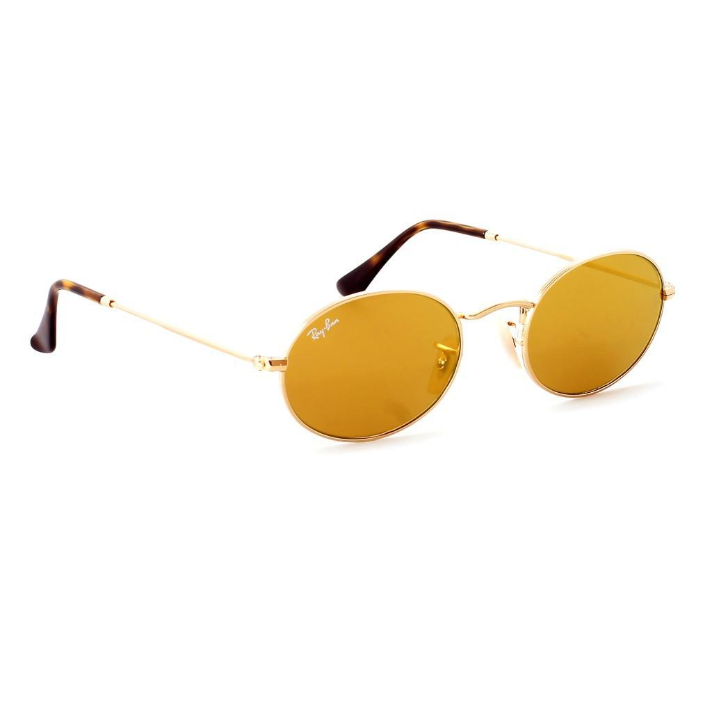 2d8b26ba8a Lyst - Ray-Ban 0rb3547n 001 93 51 Gold gold Flash Icons Sunglasses ...