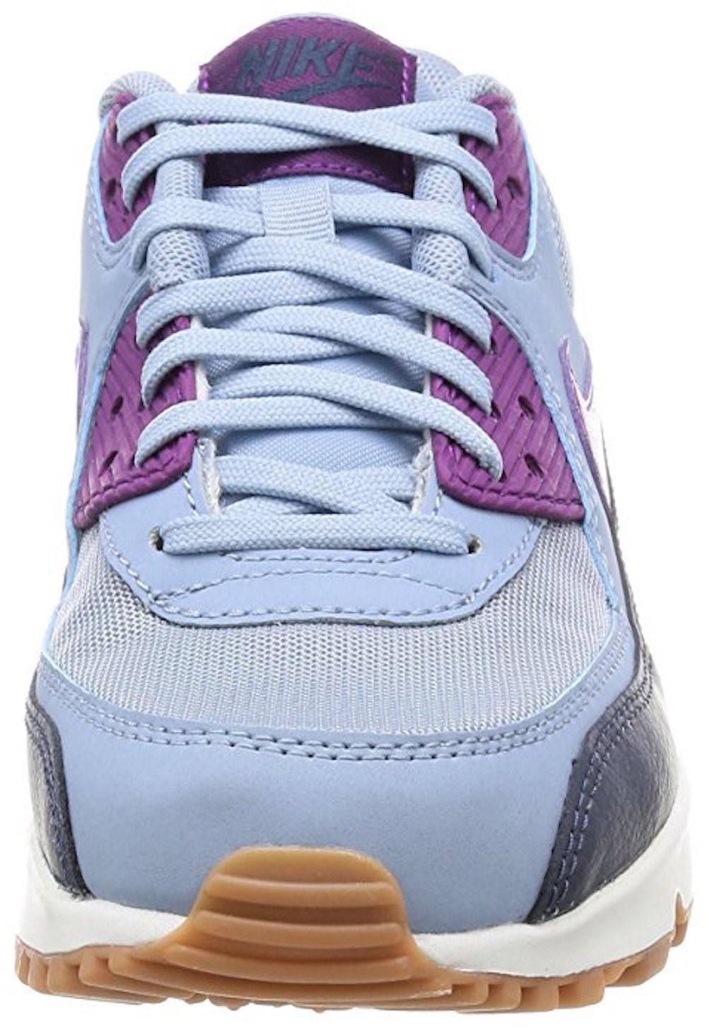 Nike Air Max 90 Essential Blue Grey Bright Grape | SneakerFiles