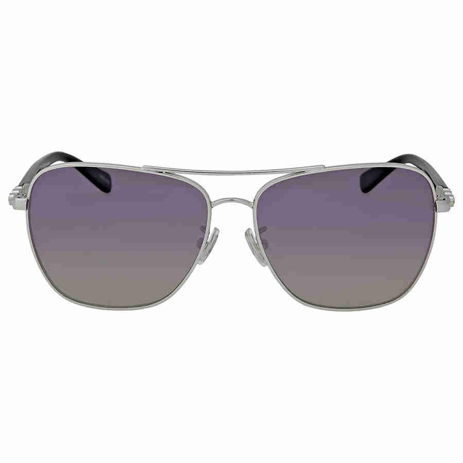 32dc9e3a69c9b COACH Polarized Purple Grey Gradient Sunglasses in Purple - Lyst