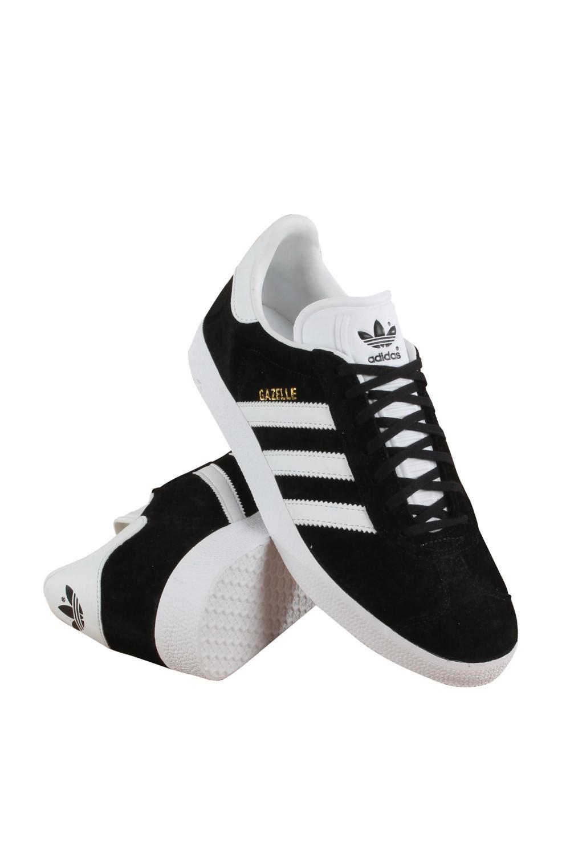 online store 536f1 76919 Lyst - adidas Bb5476 Originals Blackwhitegold Metallic Gazel