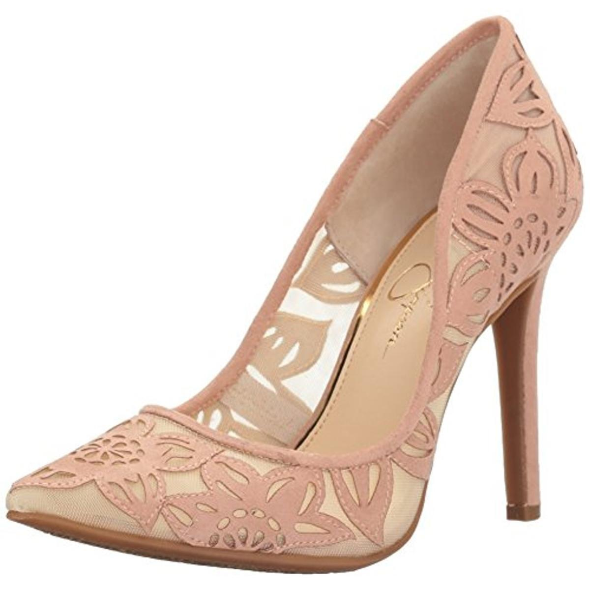 Lyst Jessica Simpson Charese Pointed Natural Toe Pumps Stilettos in Natural Pointed 7128e8