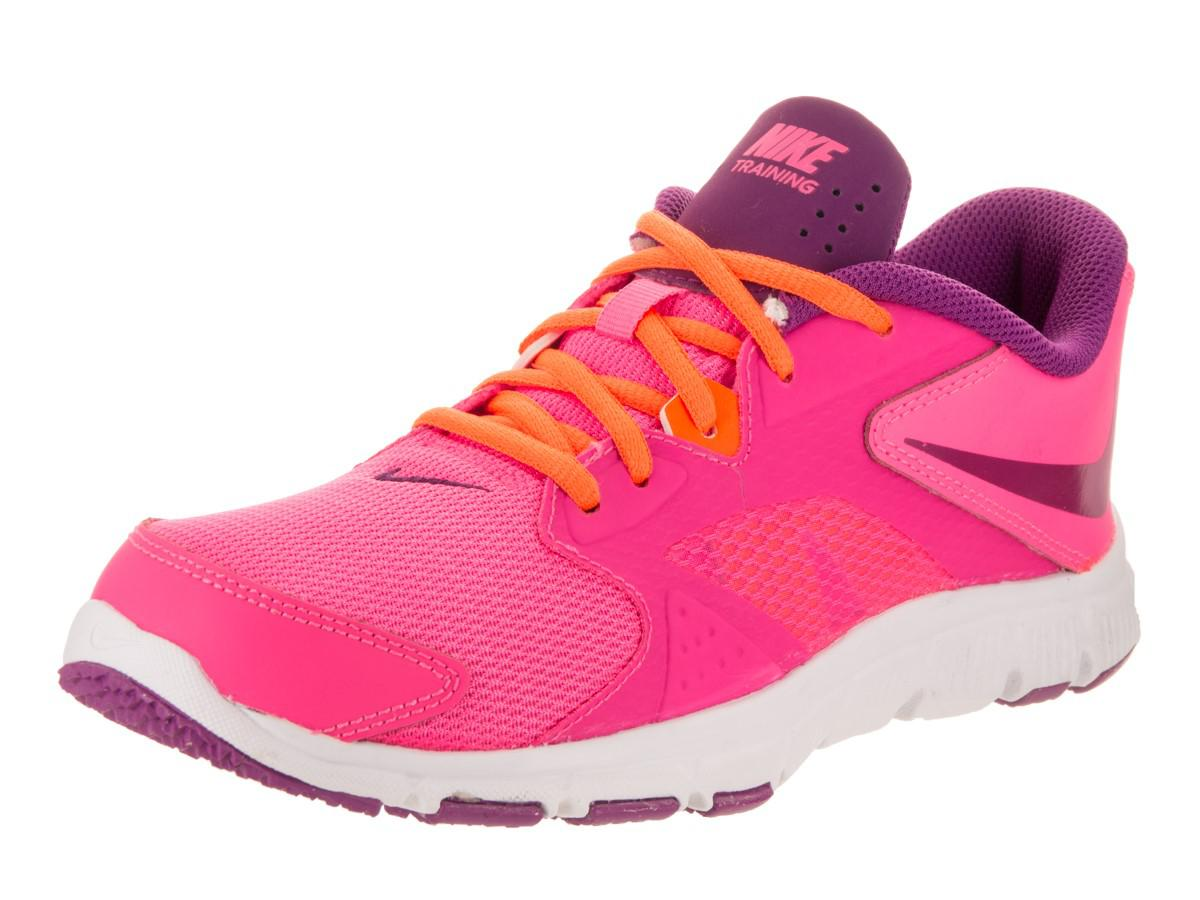 Lyst - Nike Kids Flex Supreme Tr 3 (gs ps) Pnk Pw bld Brry Ttl Orng ... 0576ae586