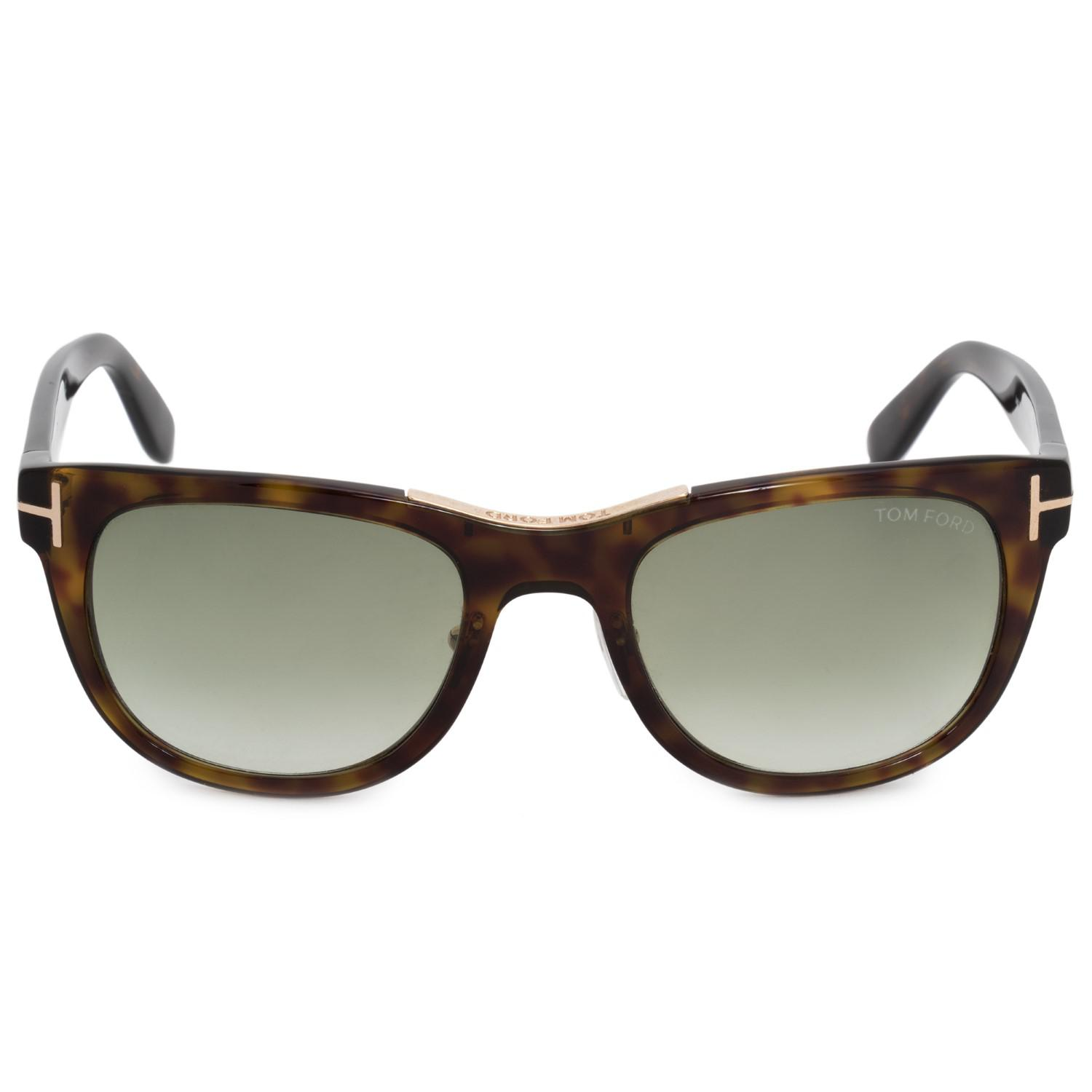 Lyst - Tom Ford Jack Square Sunglasses Ft0045 52 P 51 | Acetate ...