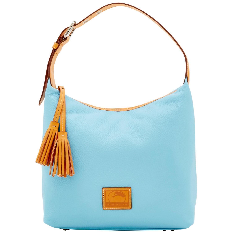 2b1c1acb6 Dooney & Bourke. Women's Blue Patterson Leather Paige Sac Shoulder Bag