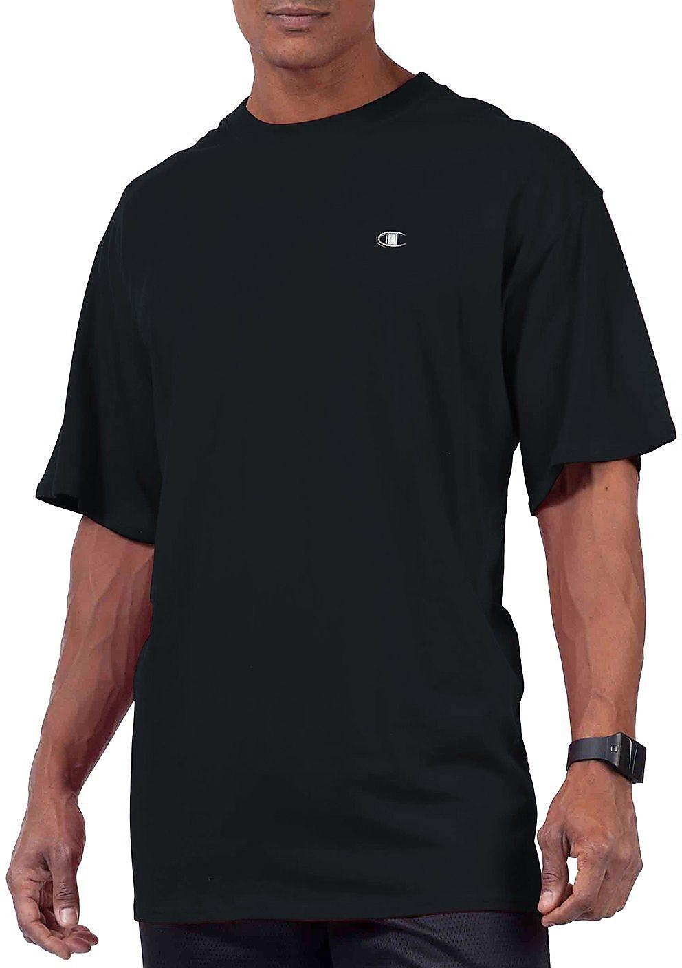 8ef7f861e Lyst - Champion Big & Tall Jersey T-shirt in Black for Men - Save 44.0%