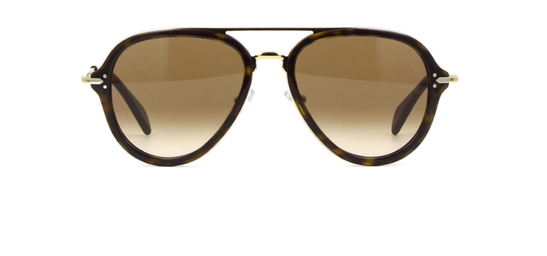 dd906cddfc75b Céline - Multicolor Sunglasses 41374 s 0ant Dark Havana Gold   9j Gray  Polarized Lens. View fullscreen