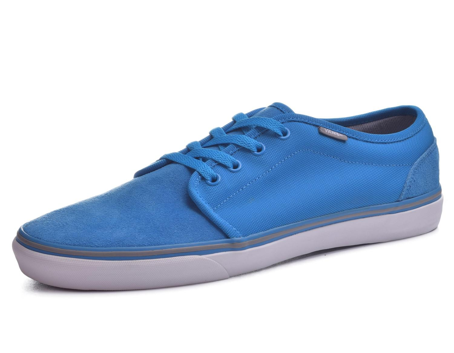 Lyst - Vans Mens Lxvi 106 Vulcanized Mlx Sneakers Lightbluecharcoal ... 2c2ff6fb0