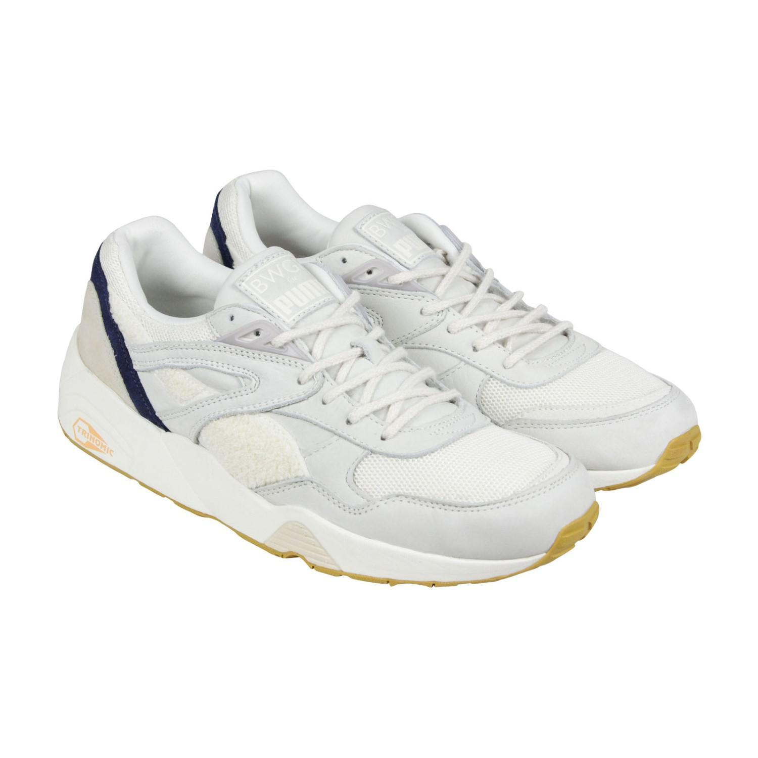 49a3163e3d3f Lyst - PUMA R698 X Bwgh Pristine Lace Up Sneakers in White for Men