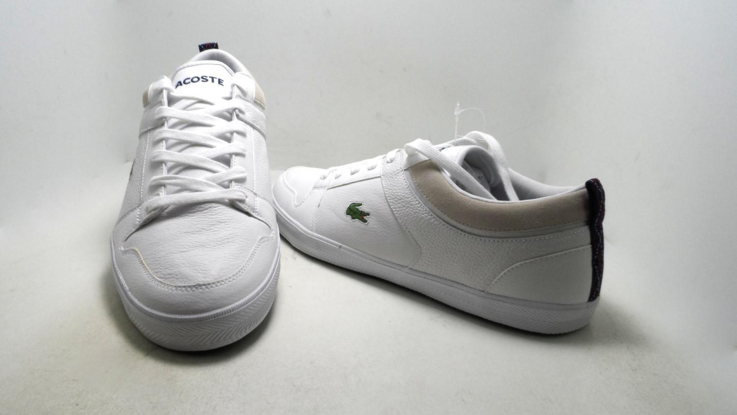 646a33e3f5ebf5 Lyst - Lacoste Ojetti Mag Spm Leather Fashion Sneaker White Size 11 ...