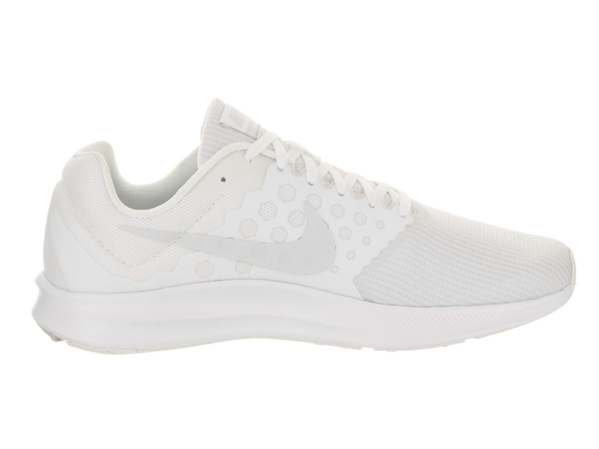 16cdf2c5c1727 Lyst - Nike Downshifter 7 White pure Platinum Running Shoe 10 Men Us ...