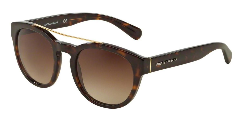 237976876f3 Lyst - Dolce   Gabbana Sunglasses Dg 4274 502 13 Havana in Brown