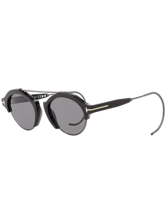 f9ddb8aa79036 Tom Ford Oval Sunglasses Tf631 Farrah-02 01a  gunmetal 49mm Ft0631 ...