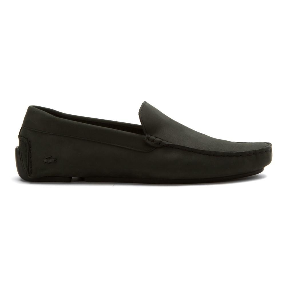 0a81e107a6a Lyst - Lacoste Men s Piloter 316 1 Loafers Shoes in Black for Men