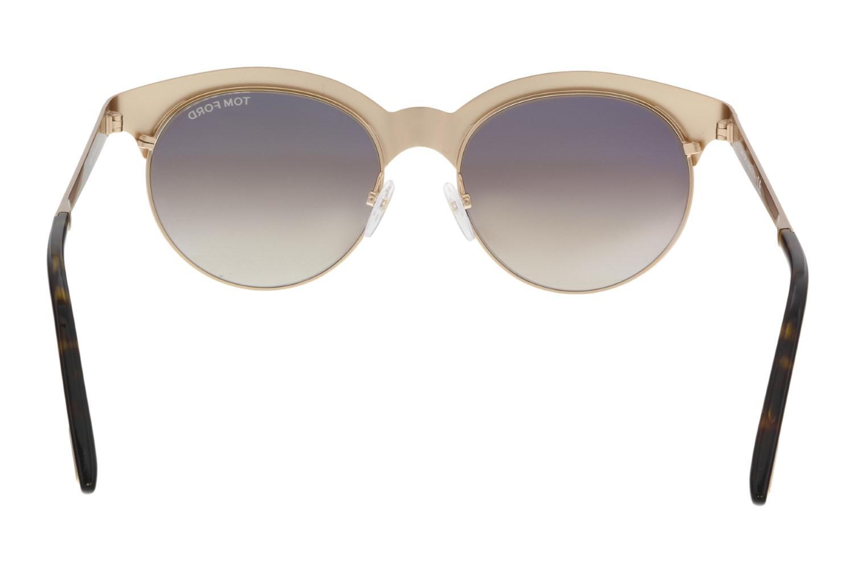 7882fd2176 Lyst - Tom Ford Sunglasses Ft 0438 Angela 28f Shiny Rose Gold ...