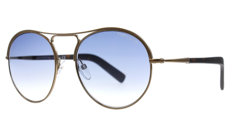 01d7b9e5da Lyst - Tom Ford Ft0449 Jessie Round Sunglasses