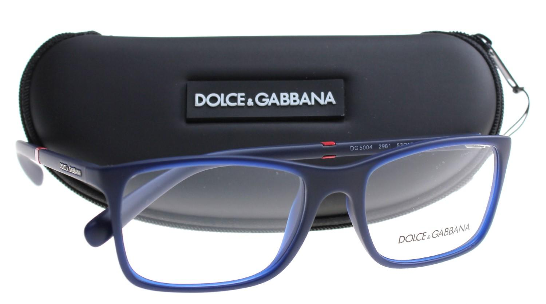 7eb62c800a4f Lyst - Dolce   Gabbana Eyeglasses Dg 5004 2981 Opal Blue Rubber in Blue