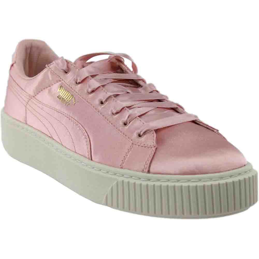 Lyst - Puma Basket Platform Explosive Trainers (363627) in Pink 5a21d840f