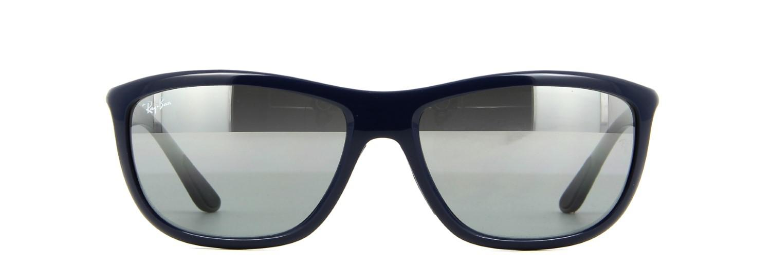 80e8255743d Lyst - Ray-Ban Sunglasses Rb 8351 622288 Shiny Blue in Blue for Men