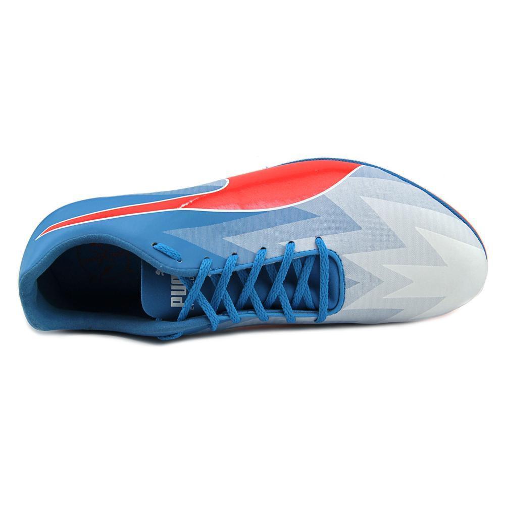 20ec21081ea8 Lyst - Puma Evospeed Sprint V6 Men Round Toe Synthetic Blue Cleats ...