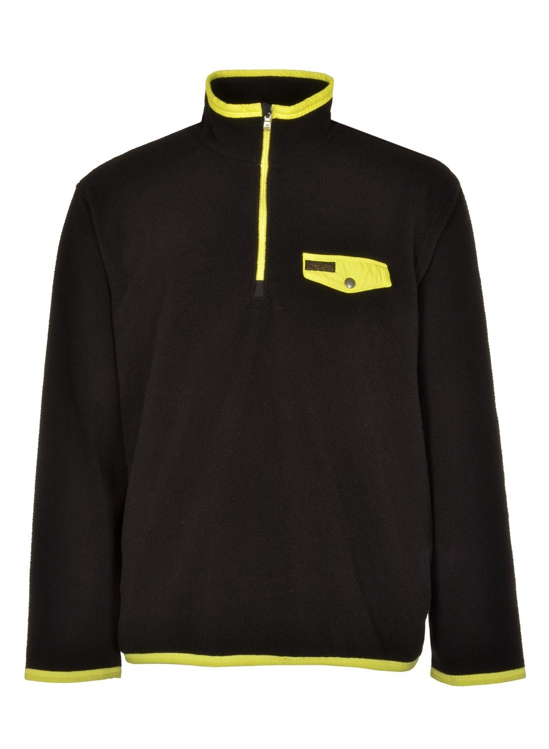 2ad51e9a5 Polo Ralph Lauren - Big And Tall Fleece Sweatshirt Black And Yellow 3xlt  Tall for Men