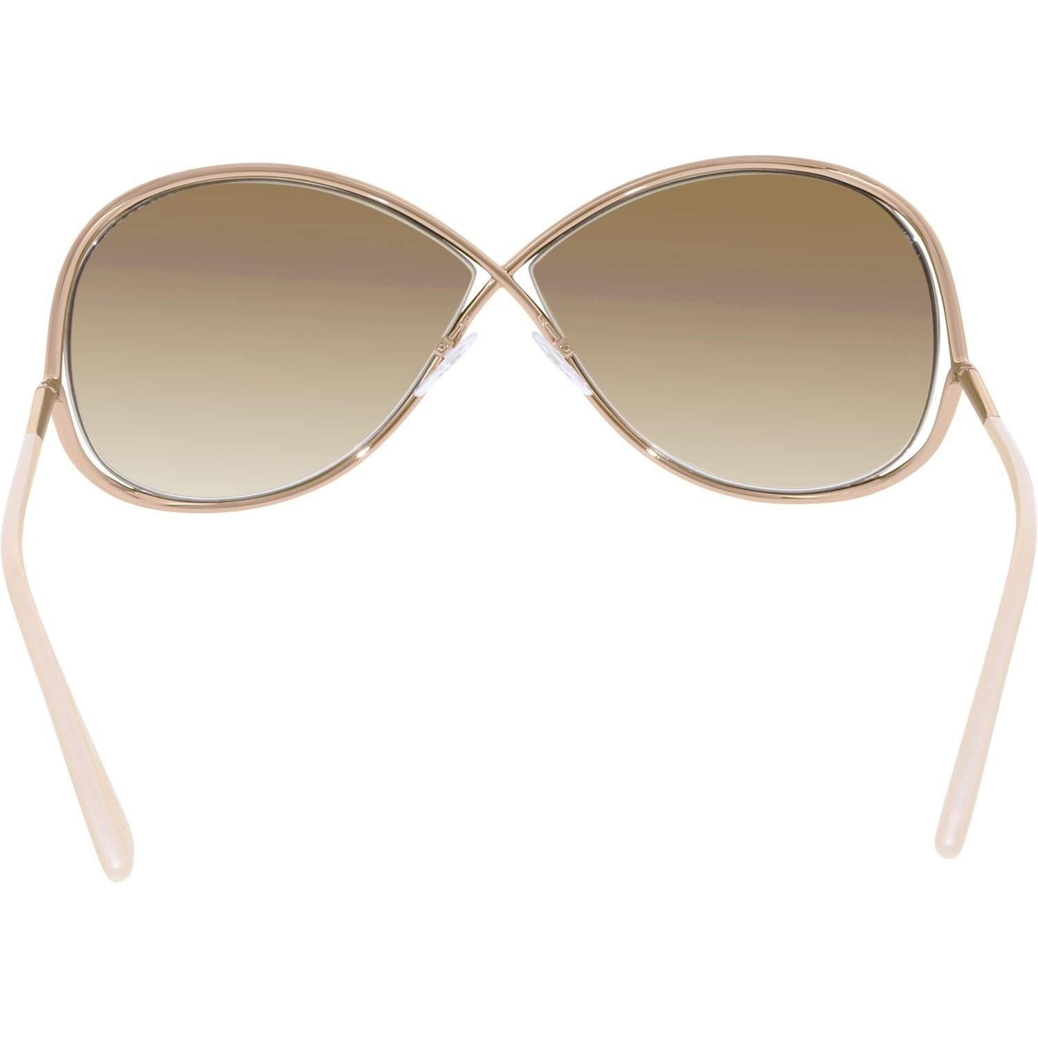 a699c00153 Tom Ford - Metallic Gradient Miranda Ft0130-28f-68 Rose Butterfly Sunglasses  - Lyst. View fullscreen