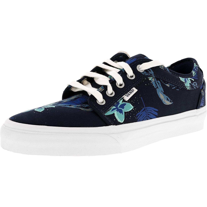 7c4e1822f8 Lyst - Vans Chukka Low Aloha Navy   Blue Ankle-high Fabric ...