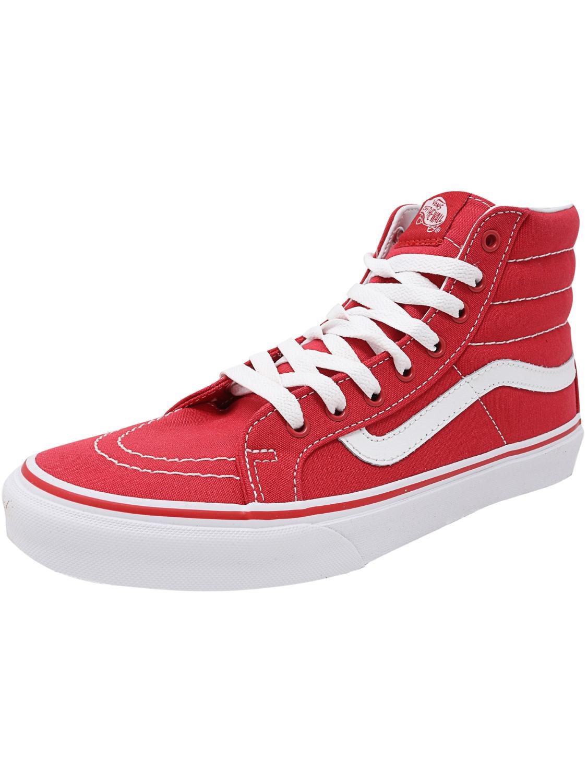 b66838900ca1ac Lyst - Vans Sk8-hi Slim Ankle-high Canvas Skateboarding Shoe - 9.5m ...