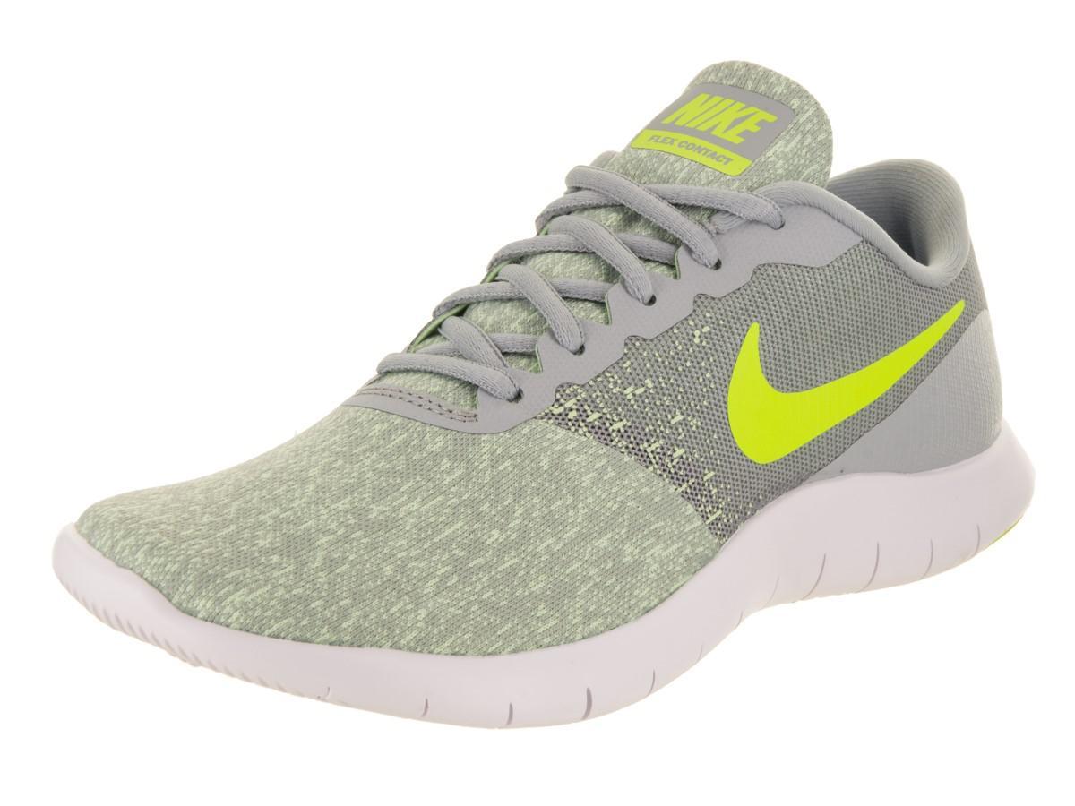 9e4d3743c180 Lyst - Nike Flex Contact Wolf Grey volt Barely Volt Running Shoe 7.5 ...
