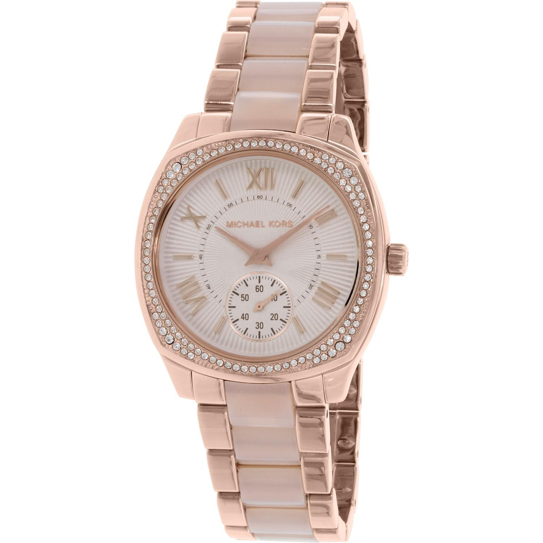 a8d626b1e0b1 Lyst - Michael Kors Mk6135 Bryn Watch in Pink