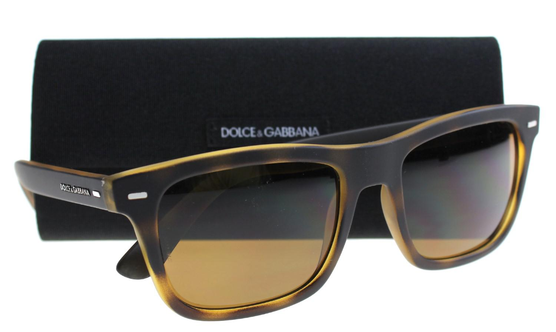 06a3119b4573 Lyst - Dolce   Gabbana D g Mens 0dg6095 Polarized Square Sunglasses