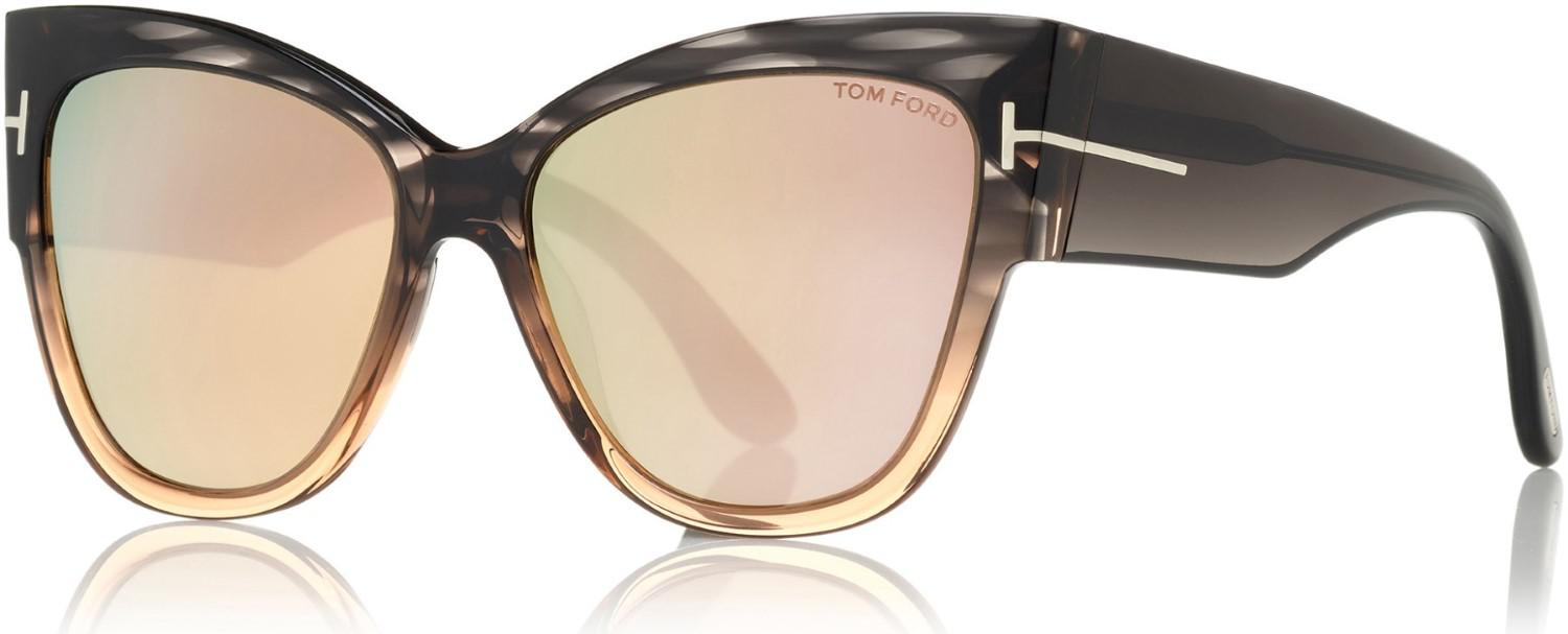 d619b96a1836 Tom Ford - Multicolor Anoushka Cat Eye Sunglasses - Lyst. View fullscreen