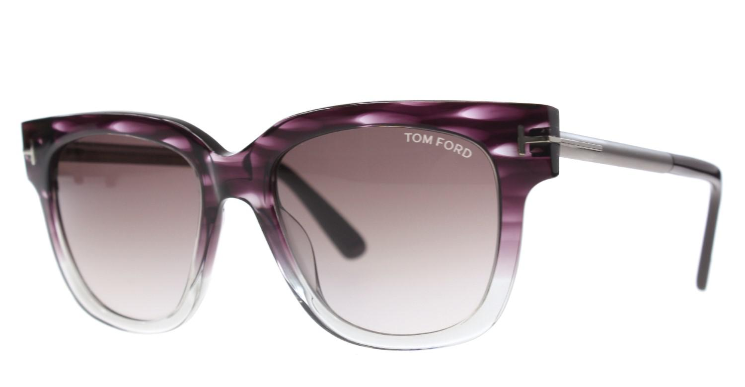 53e155e40f21 Lyst - Tom Ford New Sunglasses Women Tf 436 Violet 83t Tracy 53mm