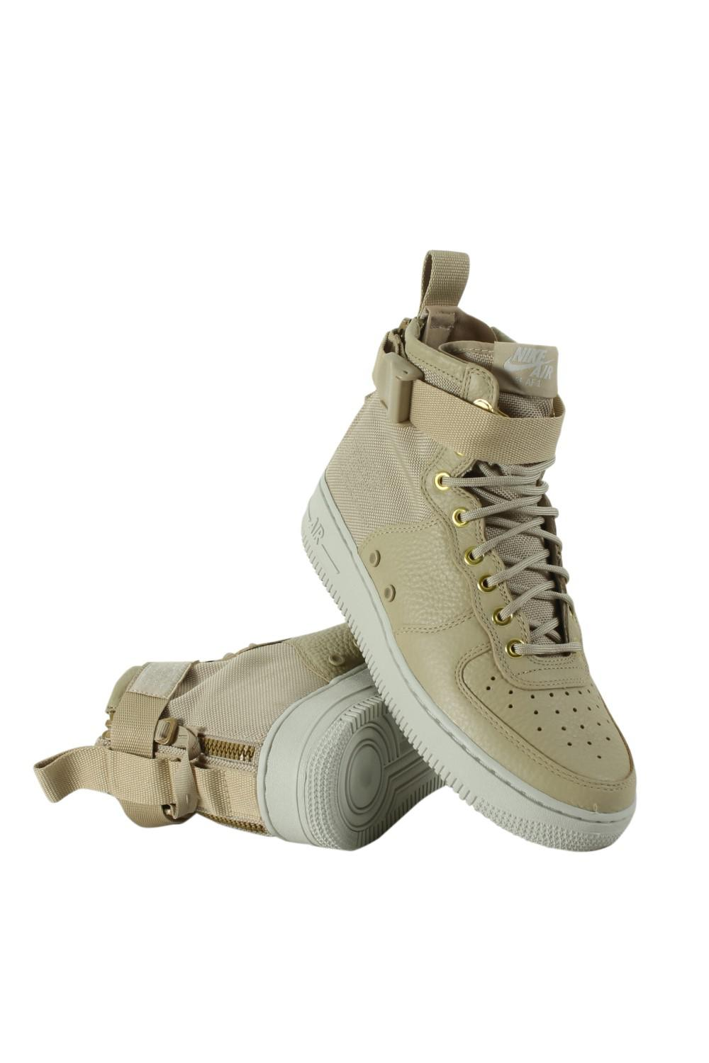 0cfd4850ffa6 Lyst - Nike Sf Air Force 1 Mid Shoes Aa3966-200 in Green
