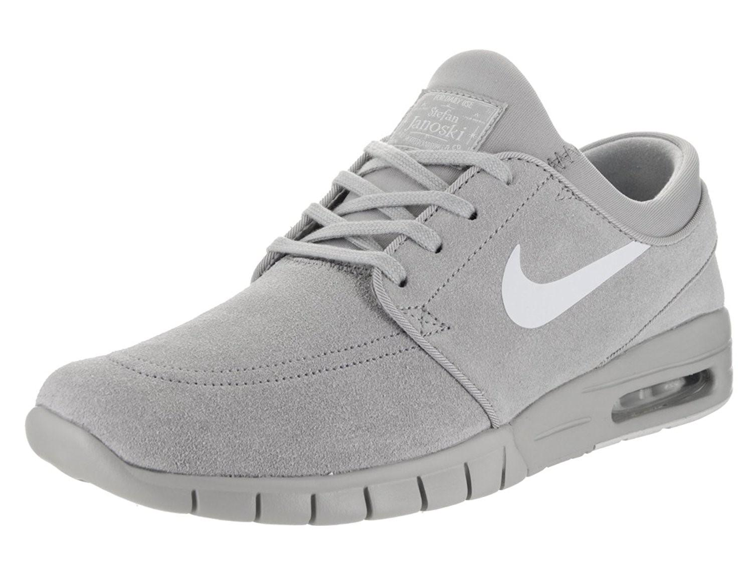 sports shoes 5ca49 6f51e Nike Air Sb Stefan Janoski Max L Suede Sneaker Current Model ...