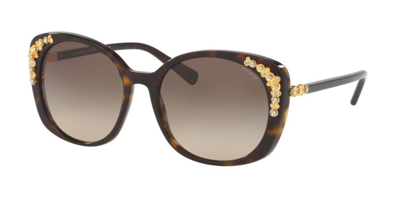 20e77f0ddfa7 ... top quality lyst coach sunglasses hc 8186 b 5120d0 dark tortoise in  brown fd466 0b98a