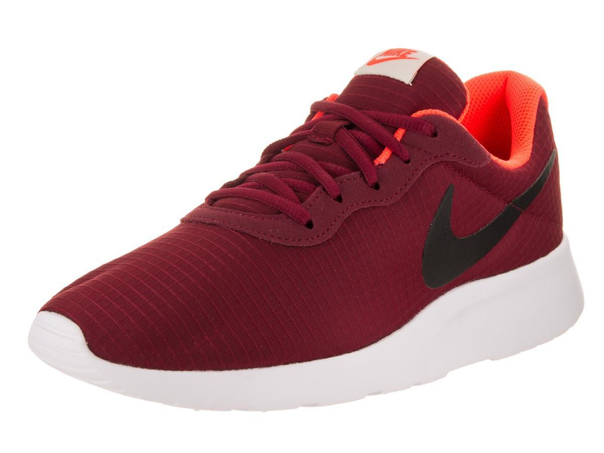 Lyst Nike Tanjun Prem Team Red/black White Running Shoe 13 Men Us