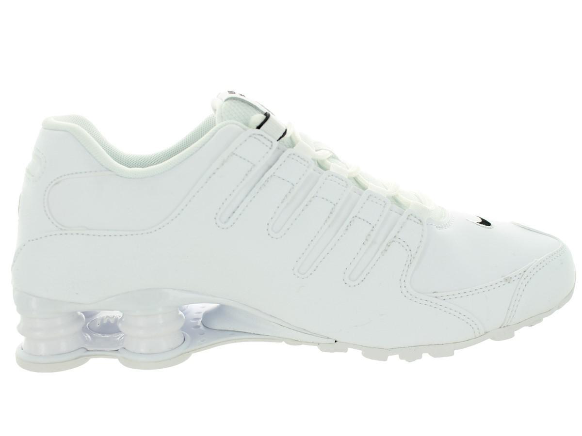 1d94051451b ... greece zapatillas de 14 running lyst nike shox nz eu 16097 hombres  blanco negro blanco 14 ...