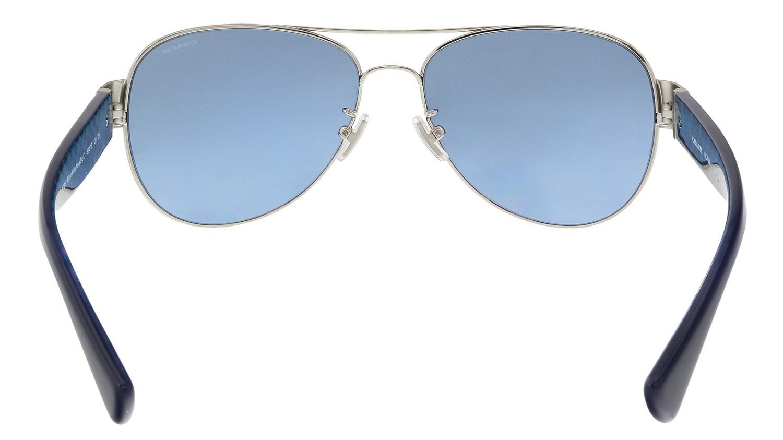 8e72f9e4a3 ... aliexpress lyst coach sunglasses hc 7059 927817 sig c in blue 3b3e7  06758 ...