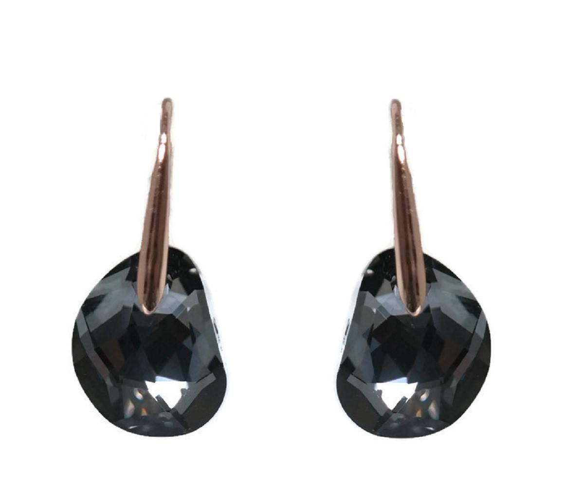 765b1cf30 Swarovski Galet Pierced Earrings - Best All Earring Photos ...
