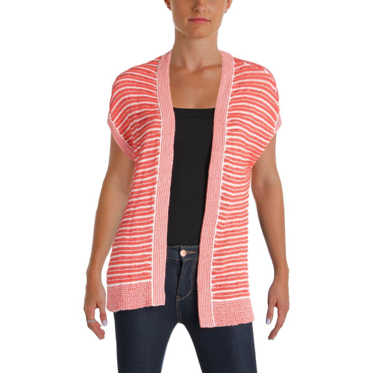 Cardigan with Cap Sleeves