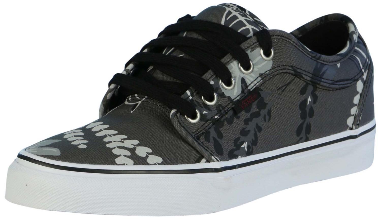 4171128778 Lyst - Vans Chukka Low Aloha Skate Shoes-aloha pewter-11 in Black ...